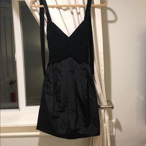 BCBG black cocktail dress size 2